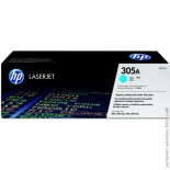 HP 305A CE411A sinine tooner