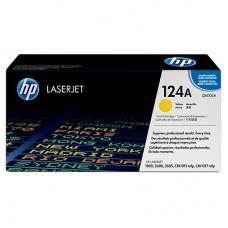 HP 124A Q6002A kollane tooner